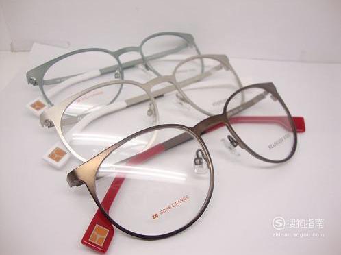 眼镜片怎么取下来