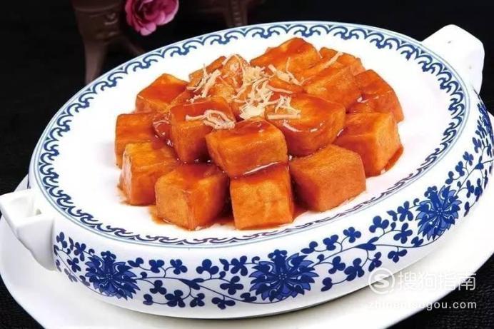 每日一食:保定名菜『总督豆腐』
