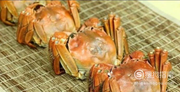大闸蟹的清洗方法与做法