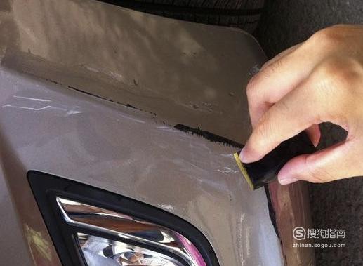 汽车轻微划痕千万不要去喷漆