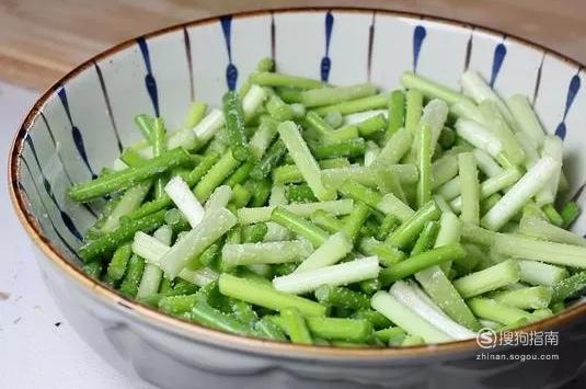 蒜苔怎么腌制
