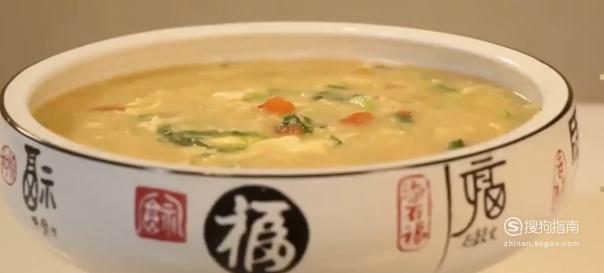 家庭版疙瘩汤的做法