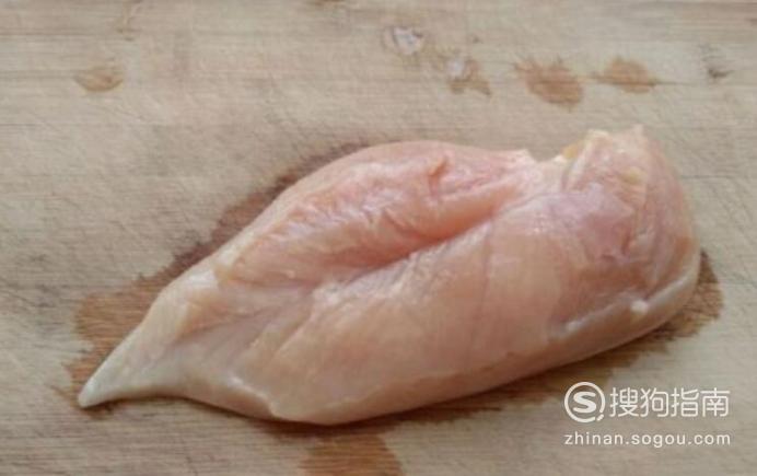 奥尔良鸡胸肉炒荷兰豆的制作方法